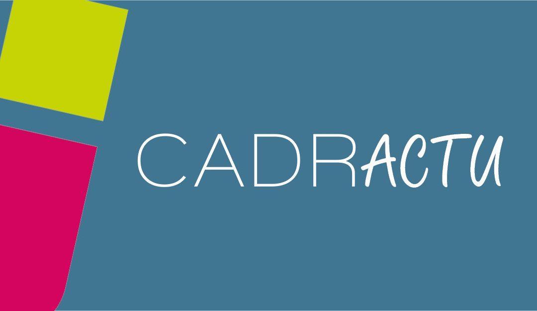 CadrActu N°63 – Octobre 2020