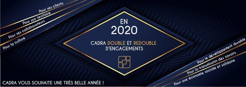 En 2020, CADRA double et redouble d'engagements !